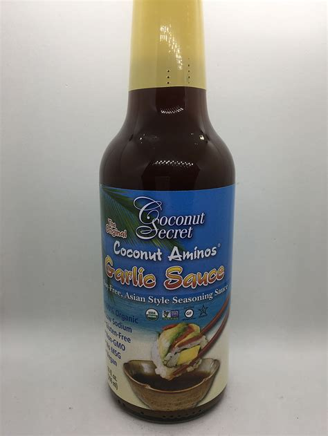 000411275x lady maclean s book of sauces coconut secret coconut aminos garlic sauce i am a clean