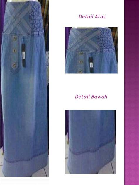 Levis Biru Langit Premium 1 rok celana muslimah aktif tetap syar i rok levis