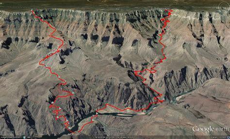 grand map south kaibab trail south kaibab bright trail the zone one