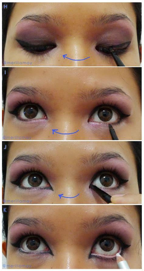 tutorial eyeliner gel untuk pemula merilla may s blog tutorial sexy pink kitty makeup look