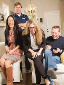 Chip and joanna gaines with homeowners hgtv