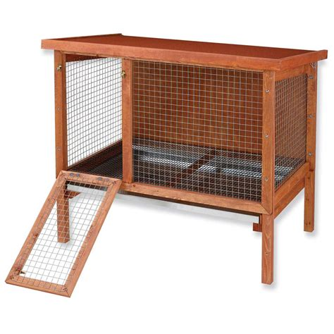 Bunny Hutch Ware Hd Large Rabbit Hutch Petco