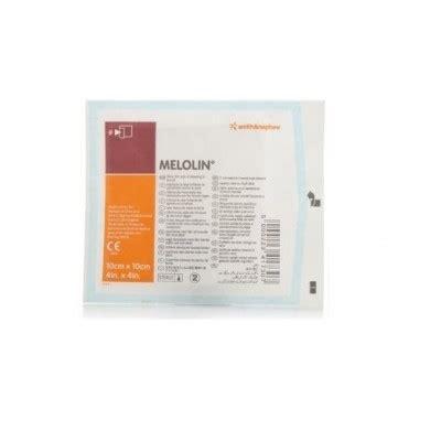 Melolin 10x10 melolin 10x10 steriel per stuk wijgergangs