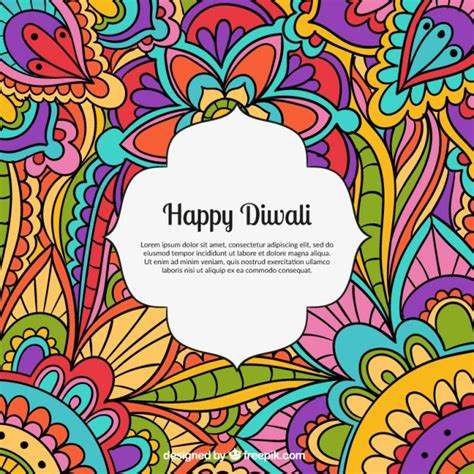 Free Ongkirfloresta Multibed Happy 180 colored happy diwali background vector free