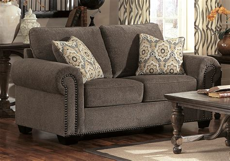 emelen sofa and loveseat emelen alloy love seat evansville overstock warehouse