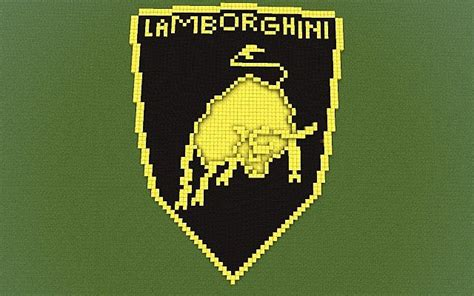 lamborghini minecraft lamborghini logo minecraft project