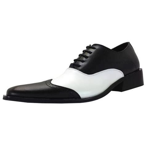 black and white oxford shoes zota dress shoes oxford wing tip style leather black and