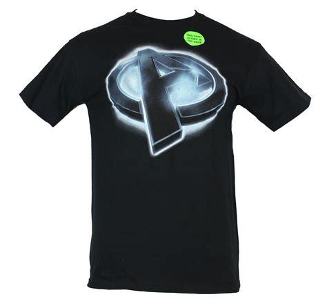 Tshirt Logo Honda Glow In The the marvel comics mens t shirt glow in the slanted quot a quot logo ebay
