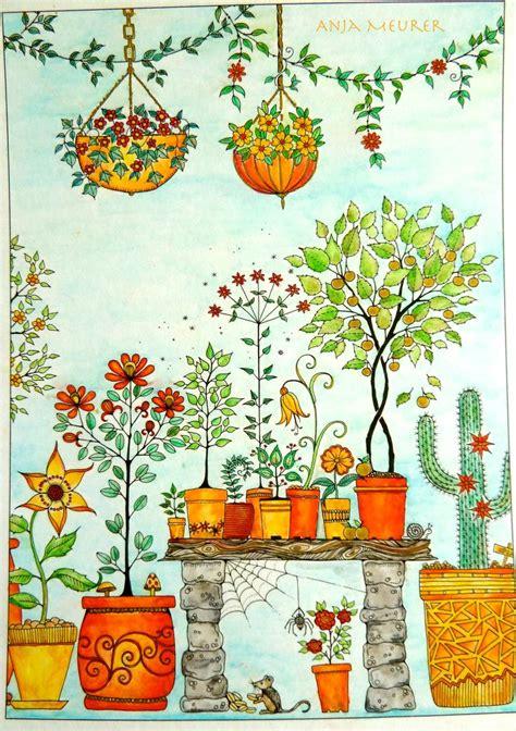 secret garden coloring book postcards 92 best secret garden coloring book images on