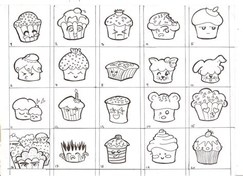 Decorated Paper Memory Game Cupcakes By Linnzy On Deviantart