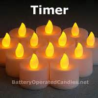 automatic tea light candles tea lights with automatic timer set of 4 buy now
