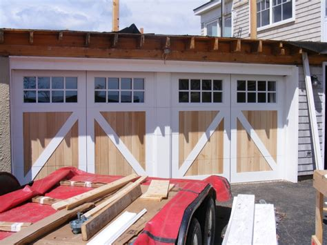 How Wide Is A Garage Door False Centerpost Wide Garage Door Low Room Garage Door