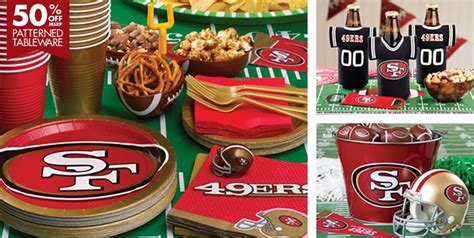 san francisco themed decorations 25 ideas destacadas sobre 49ers birthday en