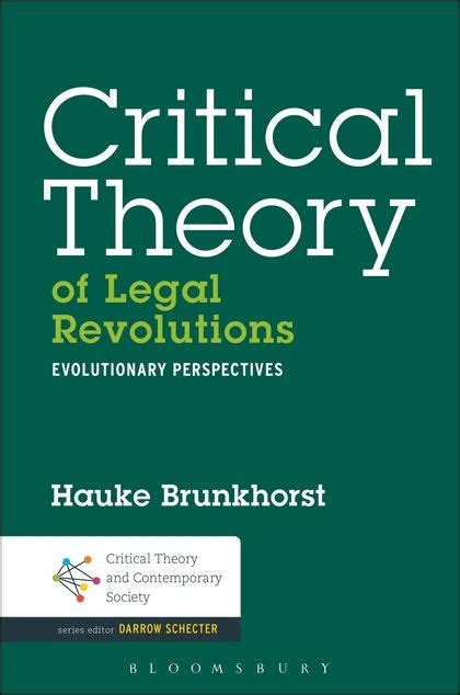 contemporary evolutionary theory critical theory of revolutions evolutionary