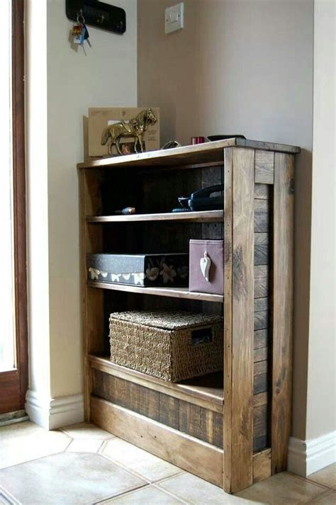 Bookcase Diy Pallet Book Shelf Home Pinterest Book Shelves
