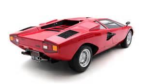 lamborghini countach lp400 scale model cars