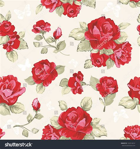 pink rose pattern clipart seamless wallpaper pattern collection red roses stock