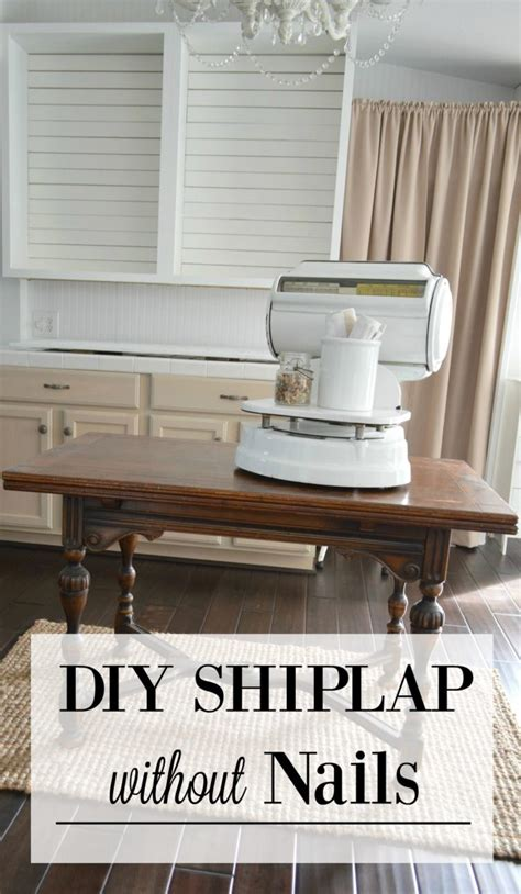 Shiplap Cottage Simple Shiplap How To Diy A Planked Wall With No Nails