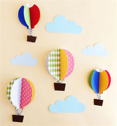 Balloon Pop Up Card Template by Diy Pop Up Card Air Balloon Pop Up Greeting Cards