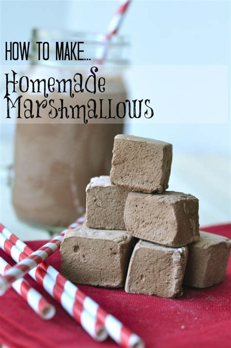 Handmade Marshmallow - marshmallow recipe dishmaps