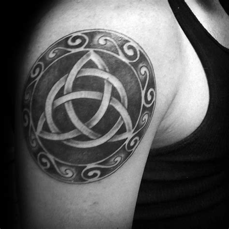 celtic knot tattoos for men 60 triquetra designs for knot ink
