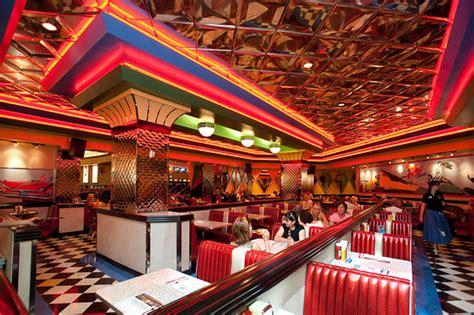 classic restaurant interior design with