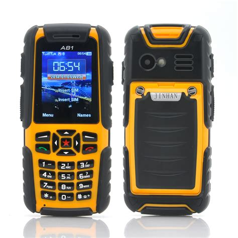 rugged cell phones wholesale jinhan a81 phone waterproof rugged phone from china