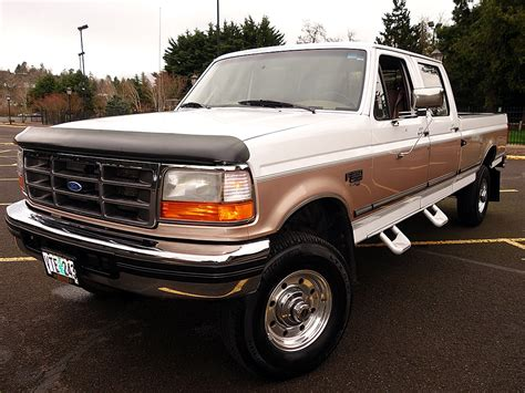 ford f350 crew cab for sale used 1997 ford f350 crew cab xlt 7 3 diesel xlt for sale