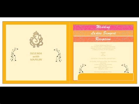 Wedding Matter Font by Wedding Card Matter Font Size Or Setting Corel Draw X8 In