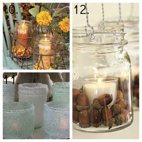 Jar Decoration Ideas by 23 Jar Ideas Jar Decor Jar Candles