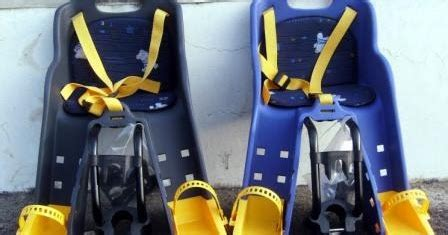 Baut Sadel Seatpost Biru lapak keakea kursi boncengan anak depan type a