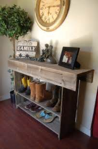 Entry Table With Storage by Wood Farmhouse Console Table Limited Supply Large Entry
