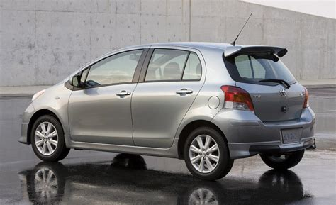 Toyota Yaris S At car and driver