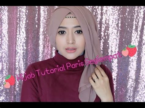 Segiempat Satin Hq tutorial kebaya formal edition part 1 funnydog tv