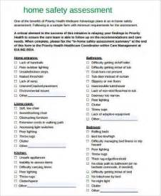 safety assessment template sle safety assessment forms 8 free documents in word
