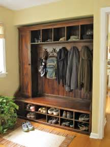 Coat Closet Furniture Entryway Mudroom Storage Home Design Inside
