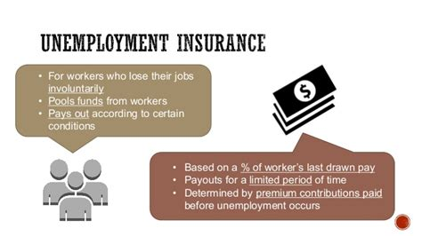 unemployment pros and cons unemployment insurance pros and cons