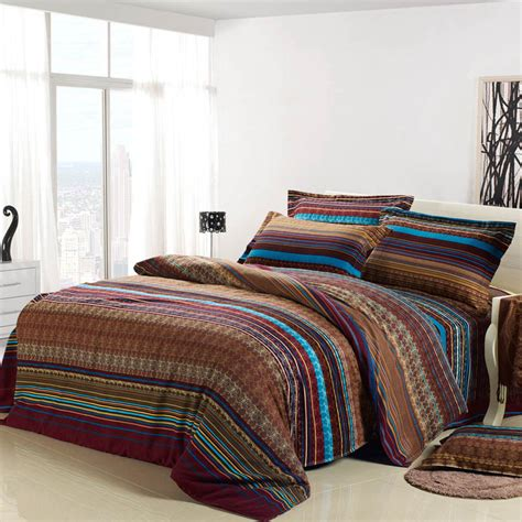 bedding sales hot sale brown luxury 4pc bedding set 100 sanded brushed