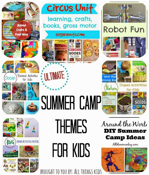 summer themed games all things kids summer c themes for kids