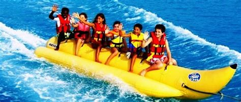 banana boat ride cost in pattaya 11 kickass water sports in thailand for the water babies