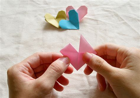 tutorial origami heart origami heart tutorial kitty baby love