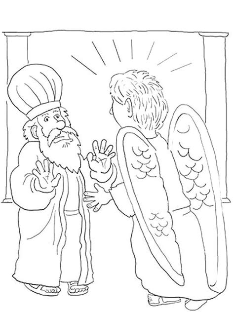 coloring pages with the name elizabeth zechariah and elizabeth free coloring pages on art