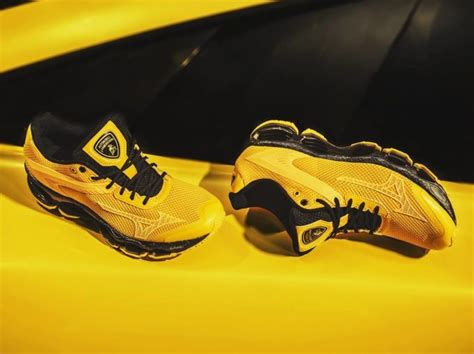 lamborghini shoes lamborghini x mizuno shoes horsepower meets footpower