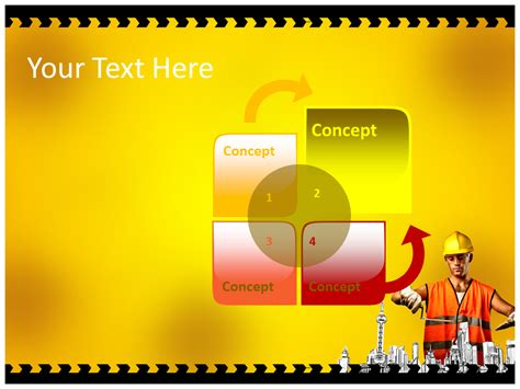 construction powerpoint template construction work powerpoint templates ppt designs