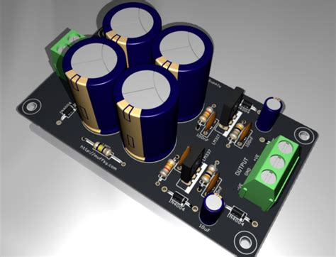 adding capacitors to power supply muffsy hifi dual power supply hackaday io