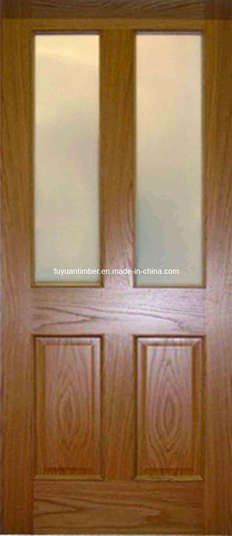 glass on wood home entrance door solid wood door