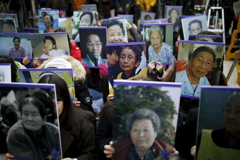 south korean comfort women japan should compensate korean comfort women editorial