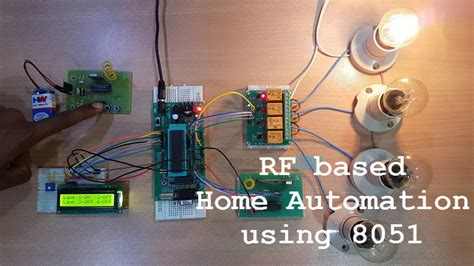 rf based home automation using 8051 microcontroller