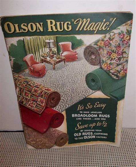 1950s rug styles vintage rug company catalog 1950s advertising