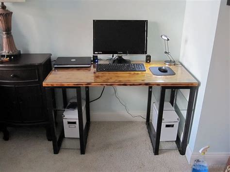 diy computer desk plans home woodplans